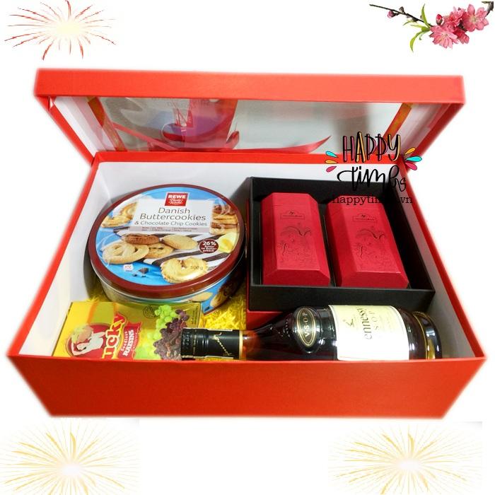 Hộp quà tết Phú Quý HQT004
