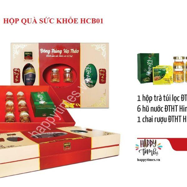hộp quà tết sức khỏe hcb01