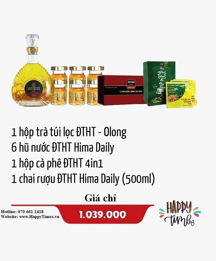 Hộp quà sức khỏe HCB05