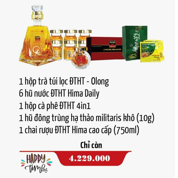 Hộp quà sức khỏe HCB08